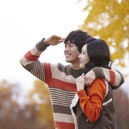 韓國燦爛的秋天