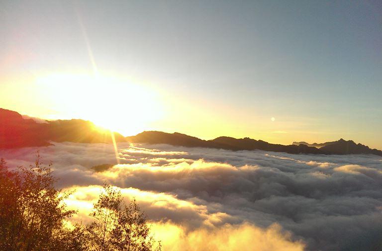 塔塔加雲海