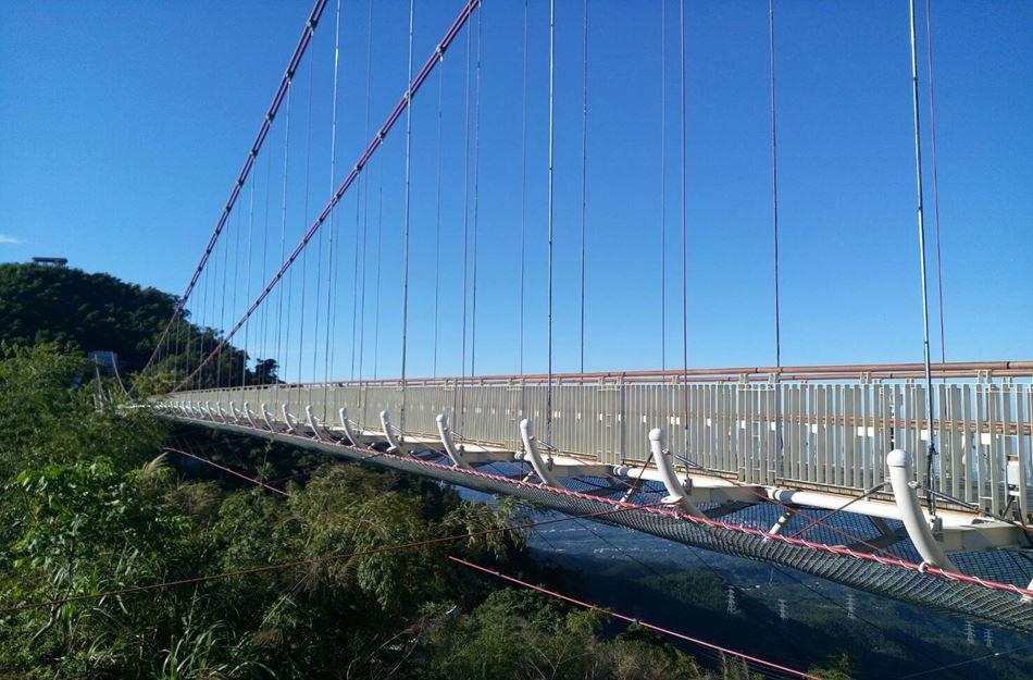 全台最長吊橋太平雲梯