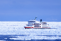 北海道冰瀑祭破冰船