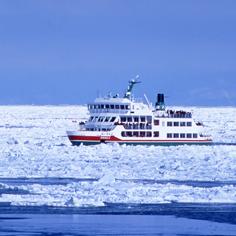 【北海道】冰瀑祭。破冰船