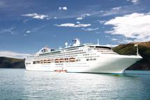 太陽公主號-暑假基隆港登船