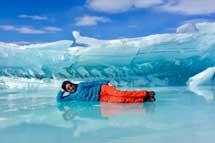 阿拉斯加冰川健行.極光9 天