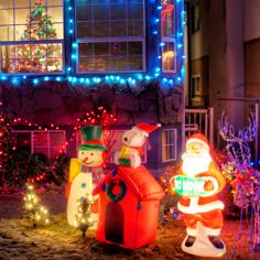 【聖誕燈飾】美西.加拿大