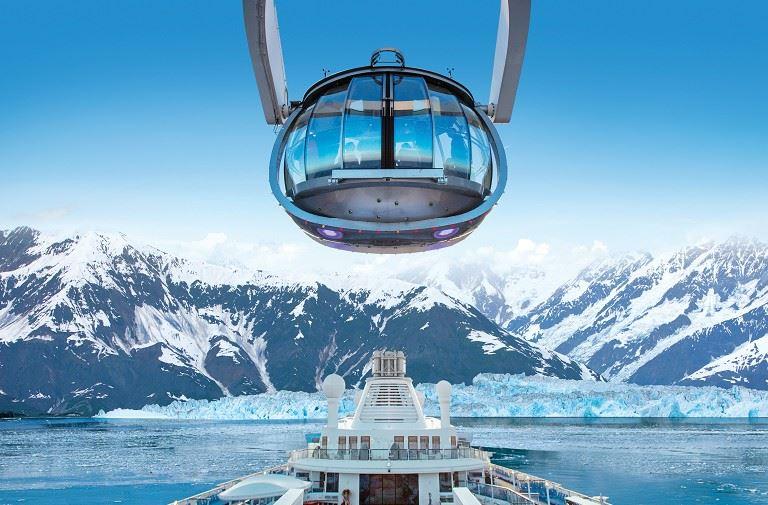 海洋賛禮號.阿拉斯加冰河內灣