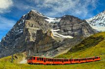 瑞士阿爾卑斯峰雲會12天