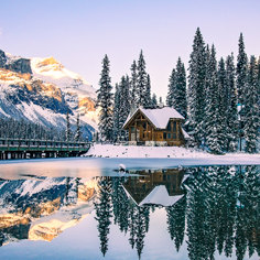冬遊加拿大 露易絲湖 雙堡9天