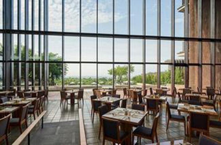 礁溪老爺飯店內享用早餐