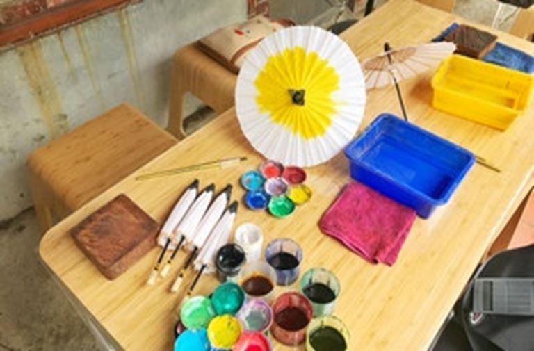 小紙傘DIY