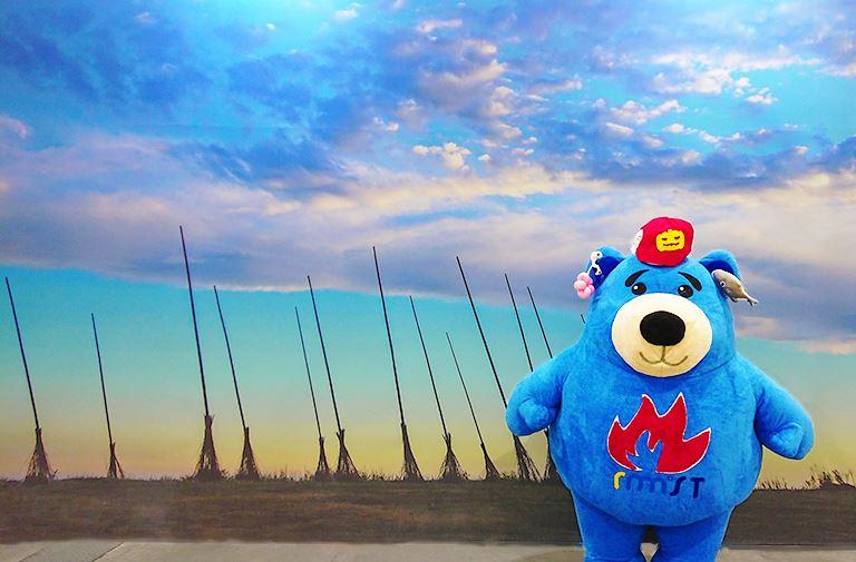 潮境公園飛天掃帚區~北火熊出沒